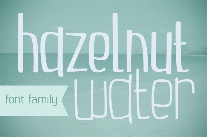 Hazelnut шрифт скачать бесплатно