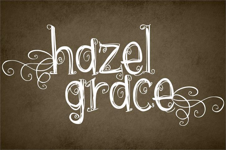 Download Hazel grace font (typeface)