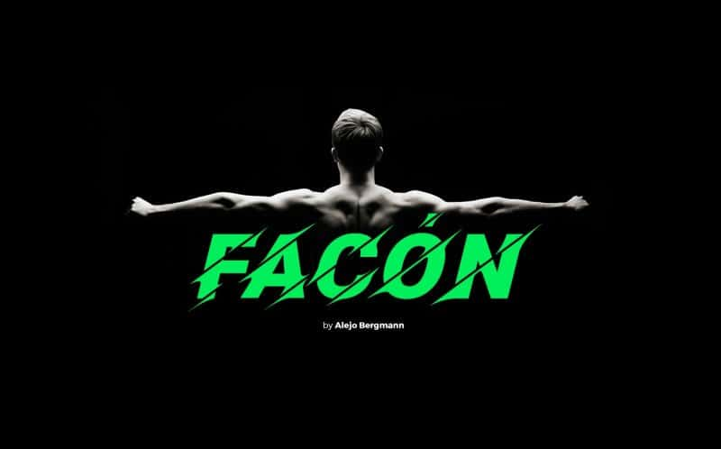 Download Facon font (typeface)