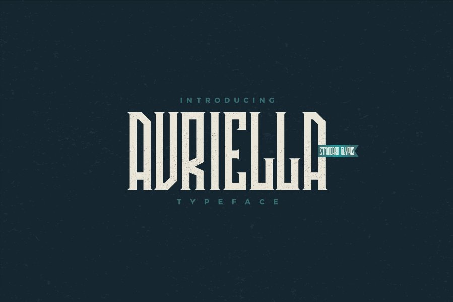Download Avriella font (typeface)