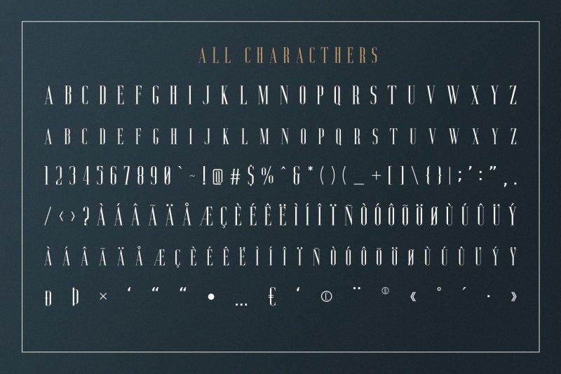 Download Aguero Serif font (typeface)