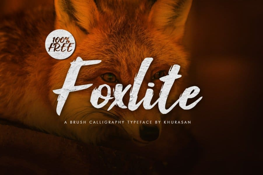 Foxlite Script шрифт скачать бесплатно