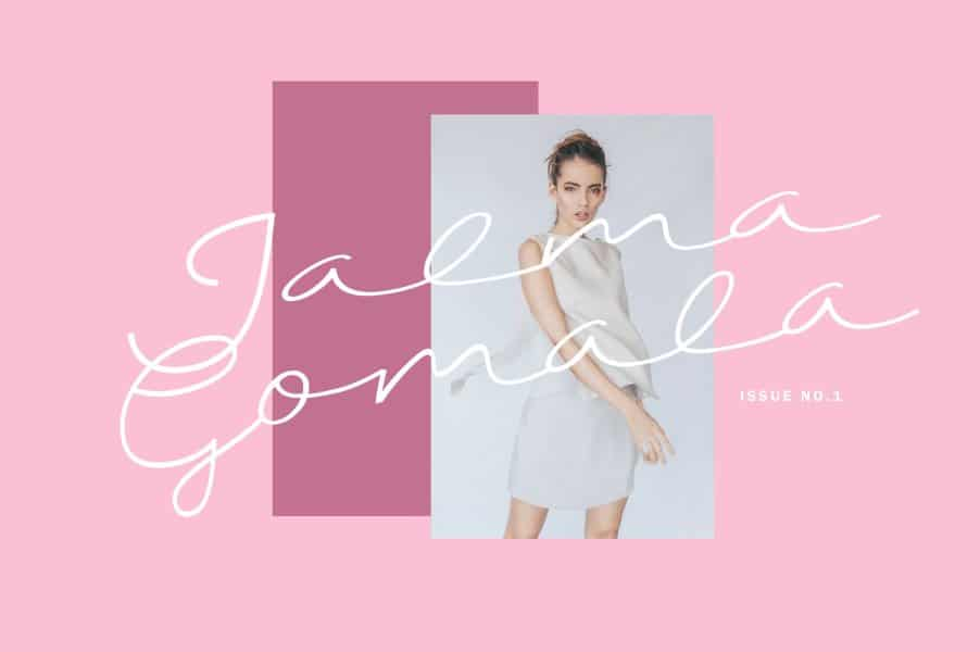 Download Gama Hand font (typeface)