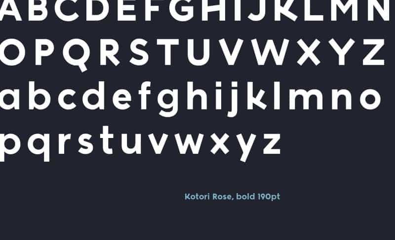 Download Kotori Rose font (typeface)