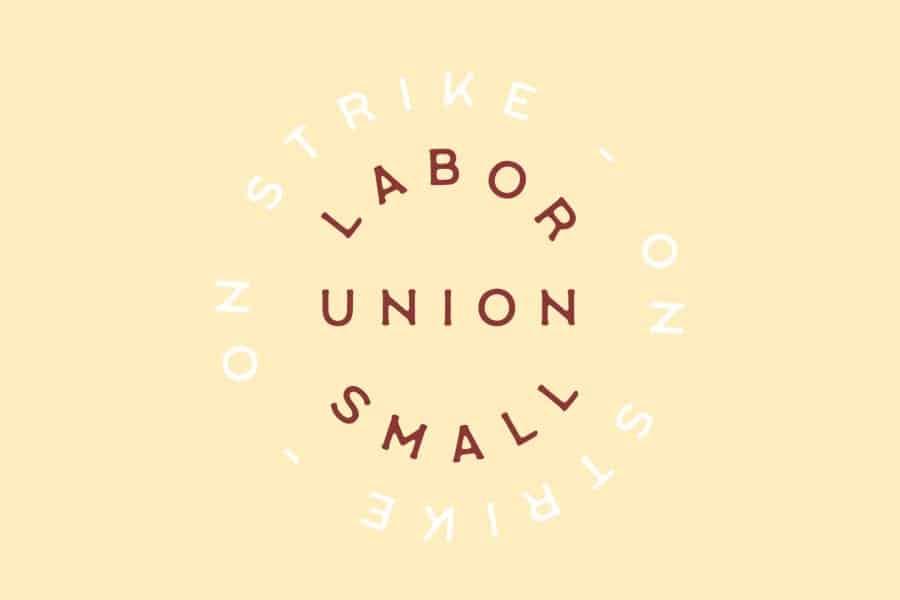 Labor Union Small шрифт скачать бесплатно
