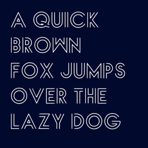 Download Lux Lineae font (typeface)