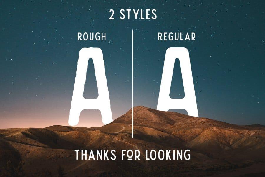 Download Nature Spirit font (typeface)