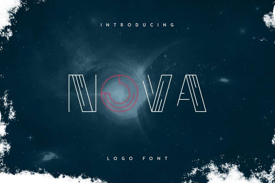 Download Nova font (typeface)