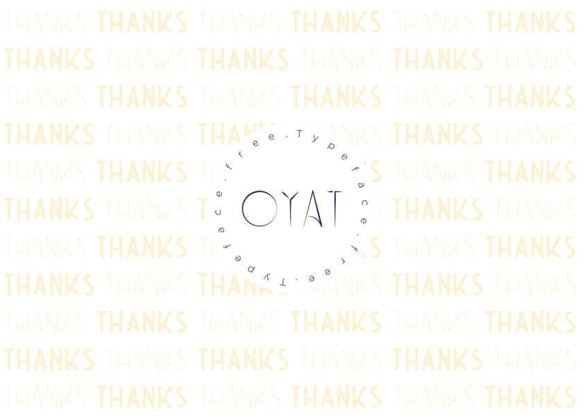 Download Oyat font (typeface)