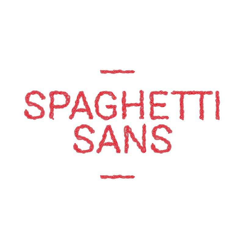 Download Spaghetti sans font (typeface)