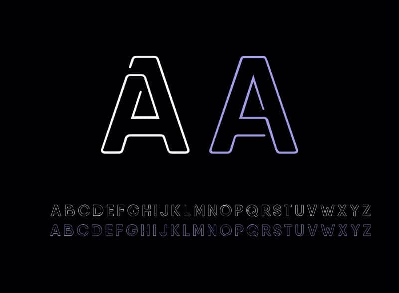 Download Neon font (typeface)