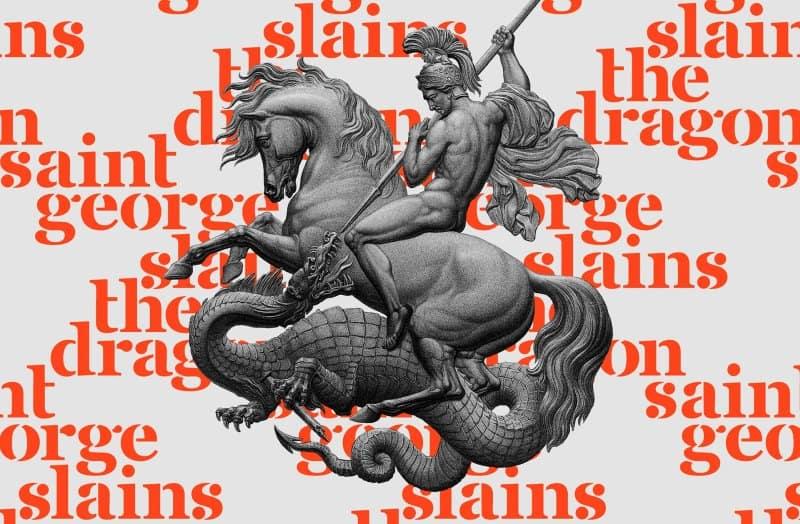 Download Saint George font (typeface)