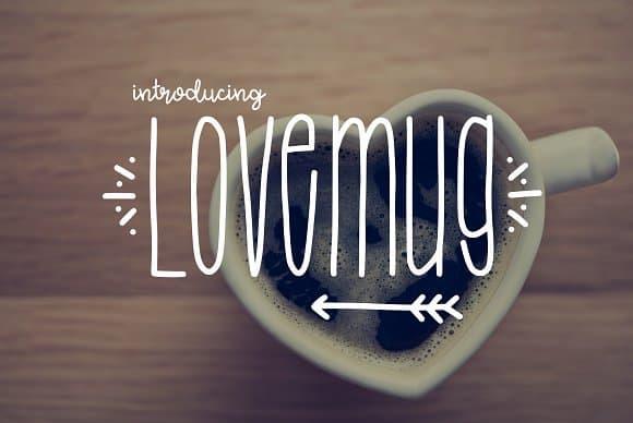 Download Lovemug Font font (typeface)