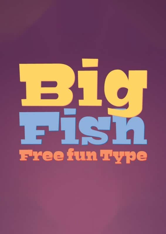 Download BigFish font (typeface)
