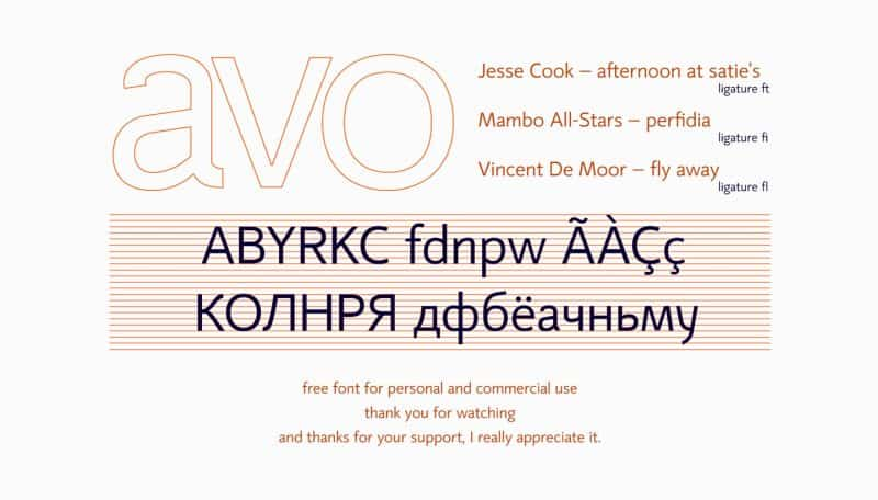 Download Mirror 82 font (typeface)