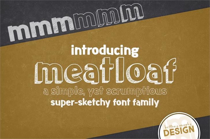 Meatloaf шрифт скачать бесплатно