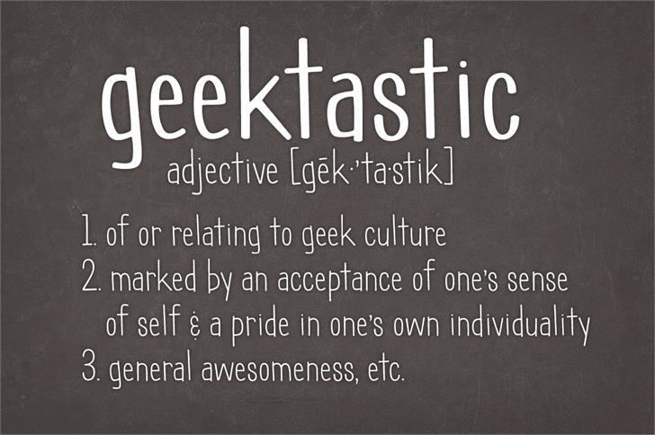 Geektastic шрифт скачать бесплатно