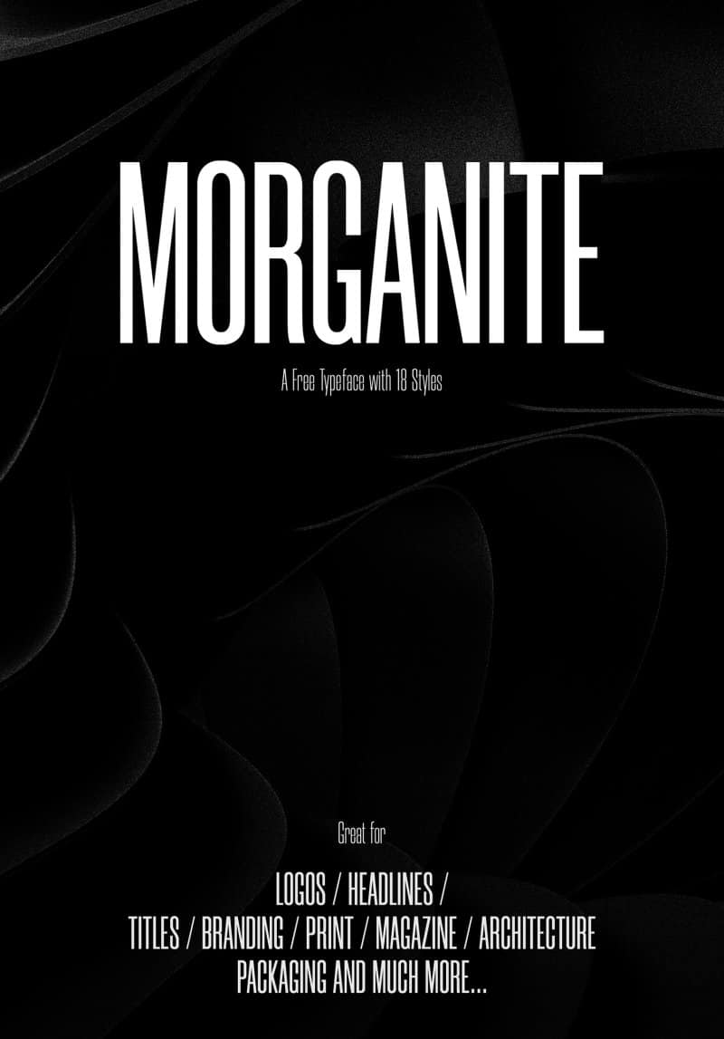 Download Morganite font (typeface)