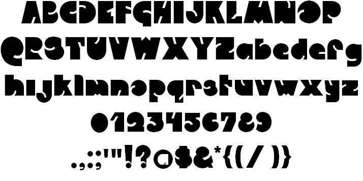 Download Qweckle font (typeface)