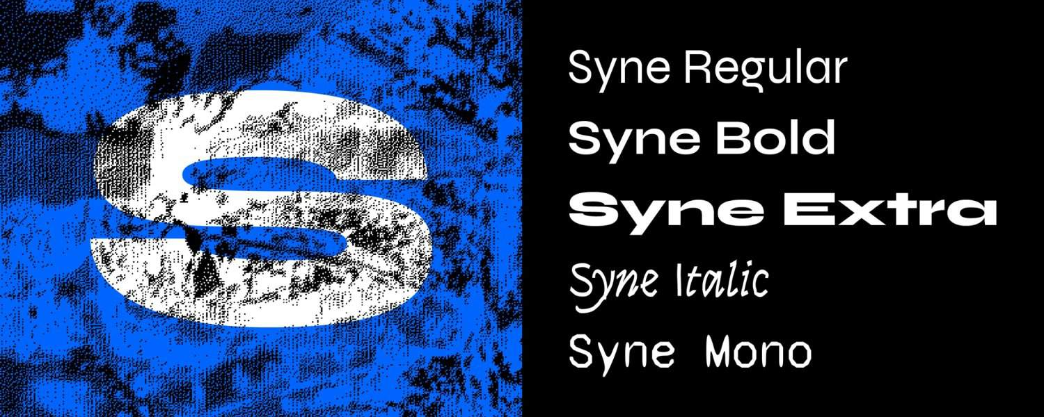 Download Syne font (typeface)
