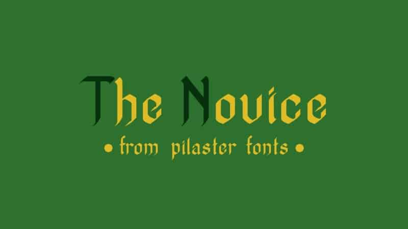Download TheNovice font (typeface)