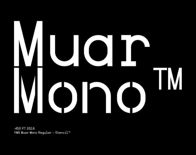 Download Muar font (typeface)