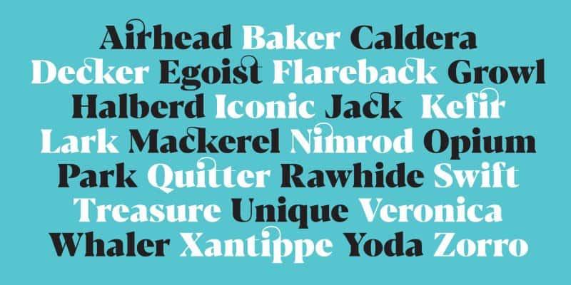 Download Blacker font (typeface)