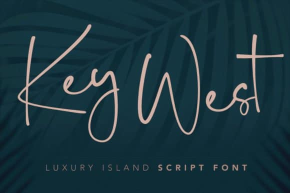 Download Key West Script with Extra font (typeface)