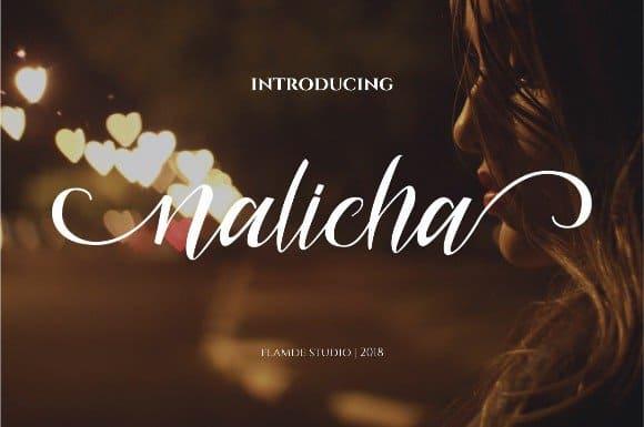 Download Nalicha Script font (typeface)