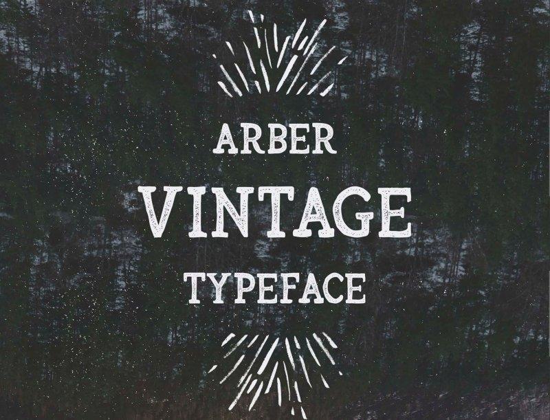 Download Arber font (typeface)