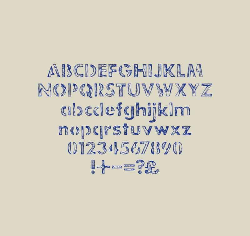 Download Jakes Stencil font (typeface)