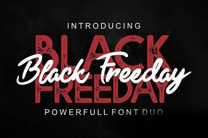 Download Black Friday font (typeface)