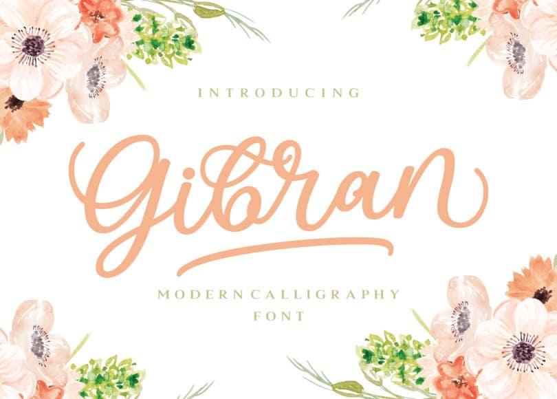 Download Gibran font (typeface)