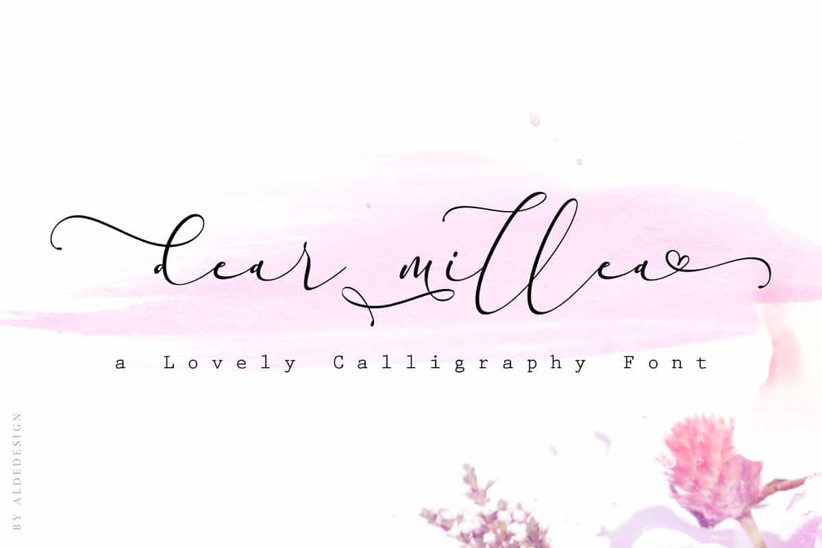 Download Everything Calligraphy font (typeface)