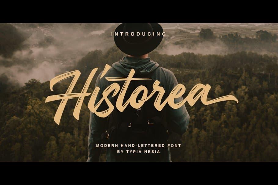 Download Historea font (typeface)