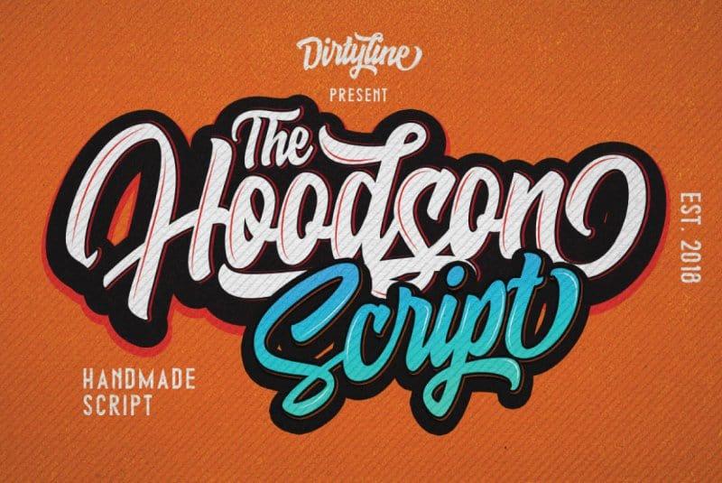 Download Hoodson Script font (typeface)