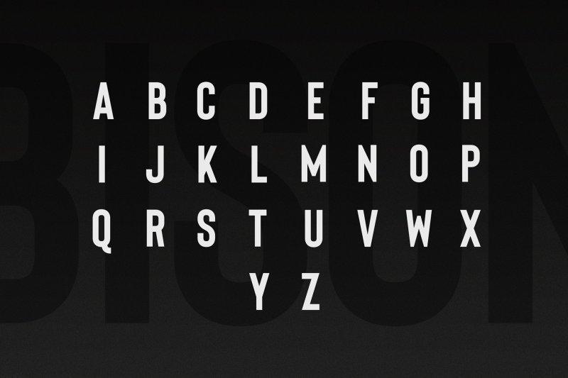 Download Bison Bold font (typeface)