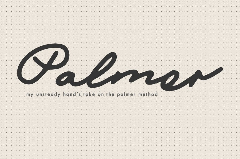 Download Mix Palmer font (typeface)