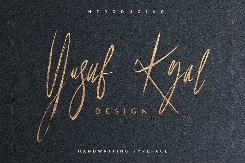 Download Yusuf Kral Artistica font (typeface)