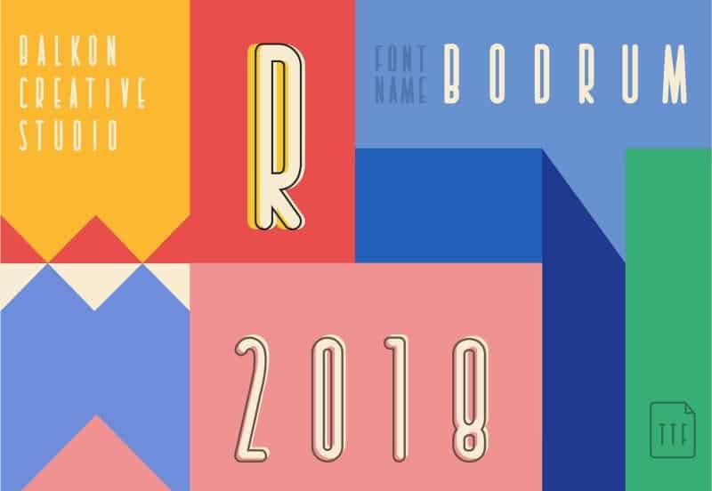 Download Bodrum font (typeface)
