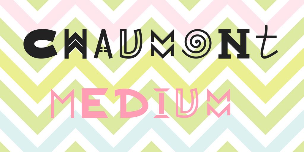 Chaumont шрифт скачать бесплатно