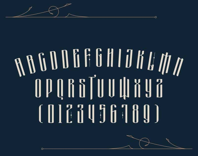 Download Masquerouge font (typeface)