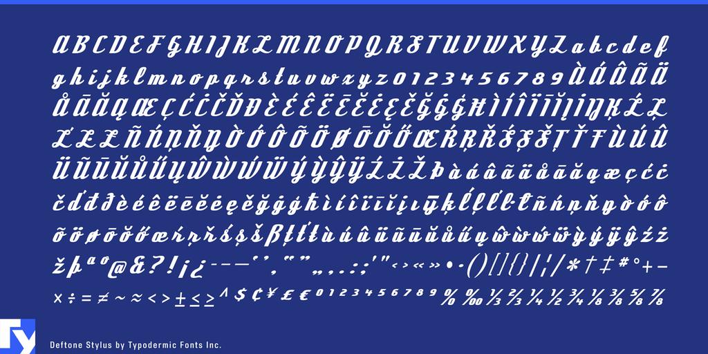 Deftone stylus font free by larabie fonts » font squirrel.