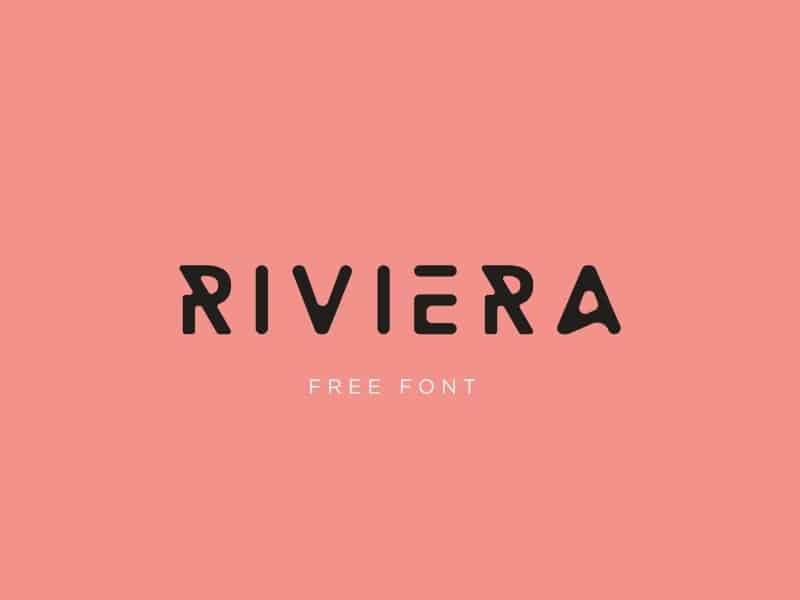 Download Riviera font (typeface)