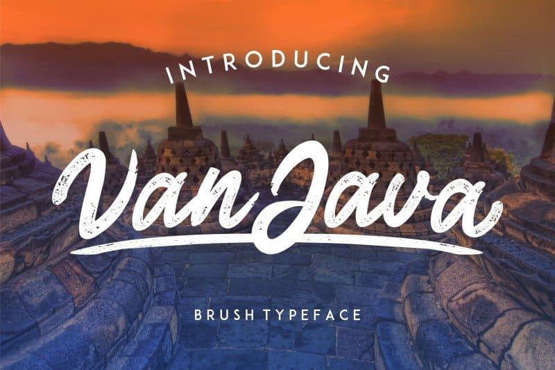 Download Van Java font (typeface)