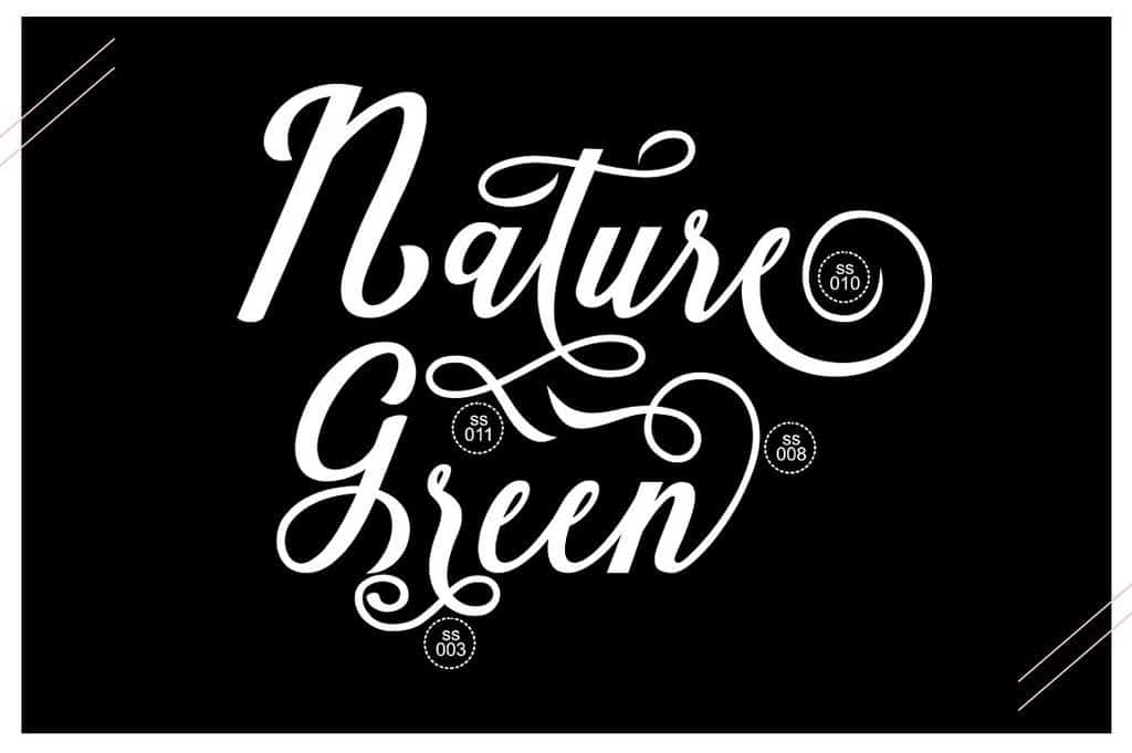 Download Natural Script font (typeface)