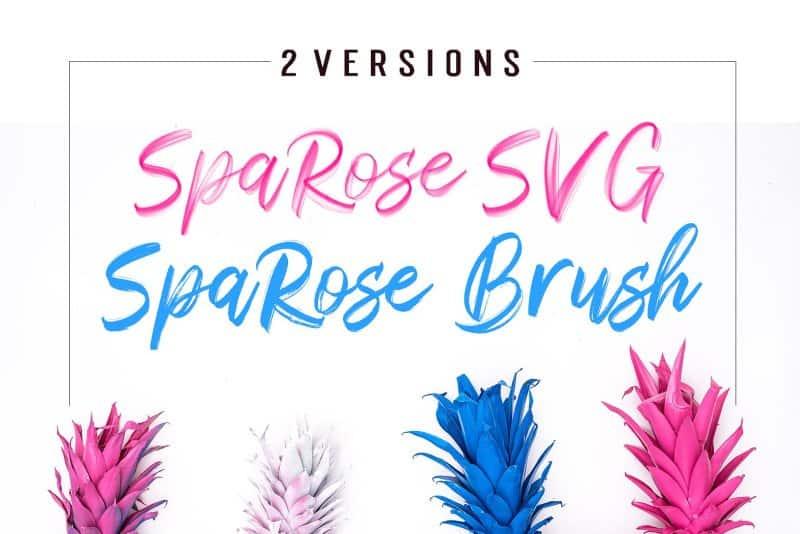 Download Sparose font (typeface)