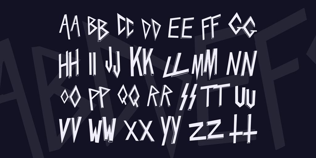 Download Slaytanic font (typeface)