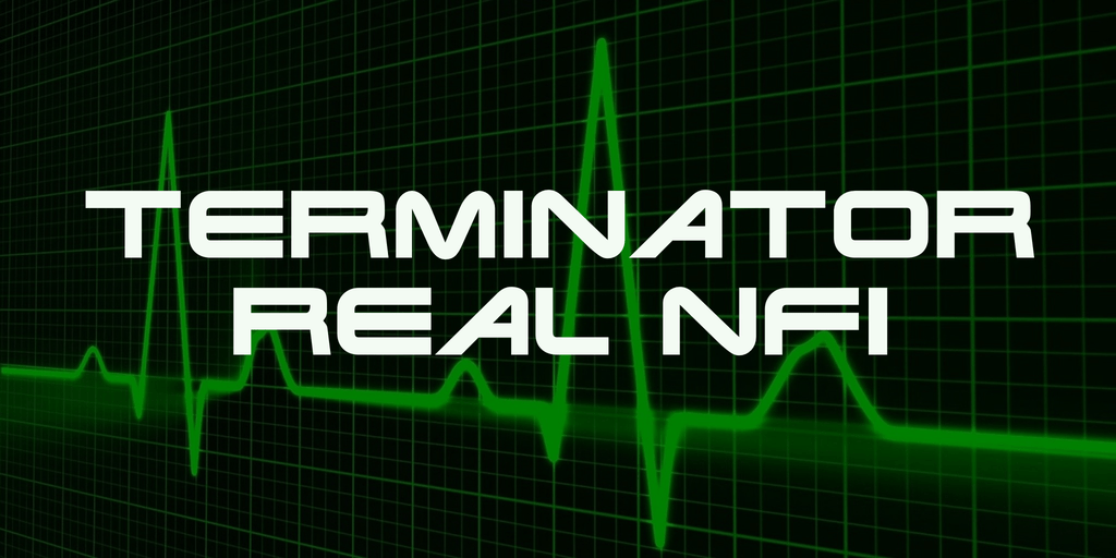 Download Terminator Real NFI font (typeface)