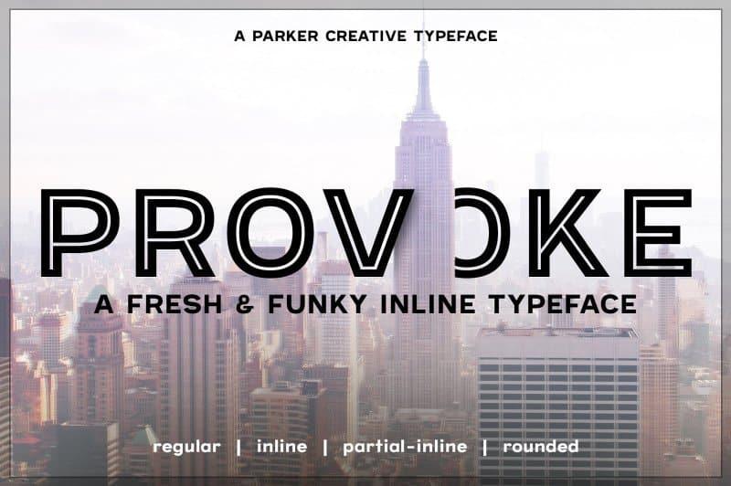 Download Provoke font (typeface)